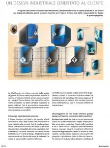 ZZZ Tornos MultiSwiss Design Milano Enrique Luis Sardi pag1 intervista interview entrevista business innovation consultant