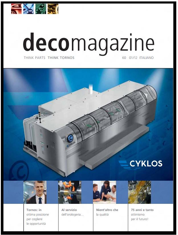 Decomagazine enrique luís sardi tornos innovation business marketing