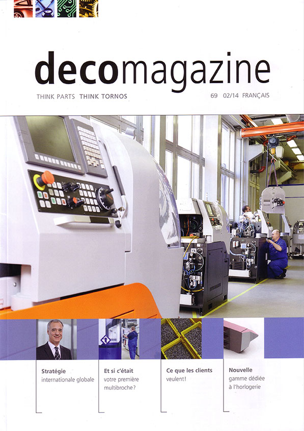 Decomagazine – Worldwide - MultiSwiss -Tornos-Almac-Sardi Innovation