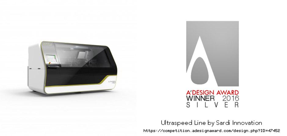 A design, silver winner, Ultraspeed, Enrique Luis Sardi, Posalux designer