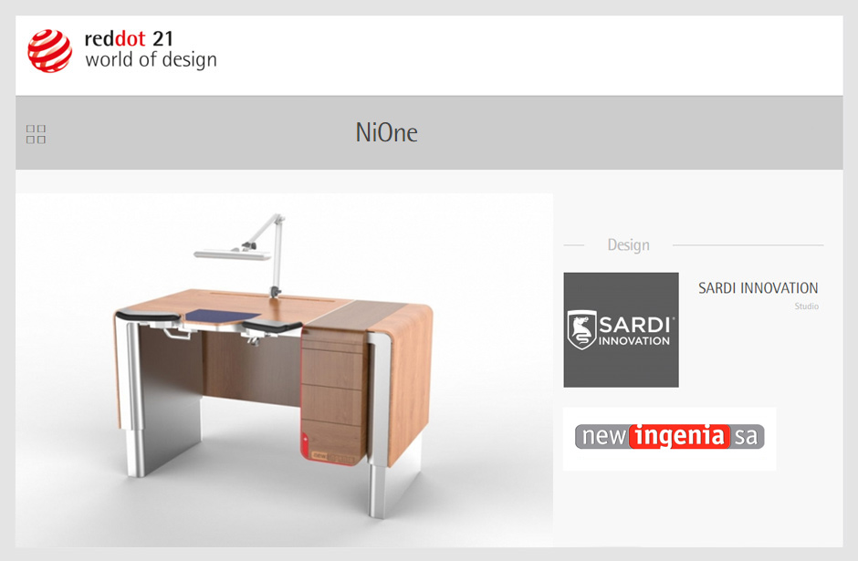 NiOne, nione, Sardi Innovation, Design